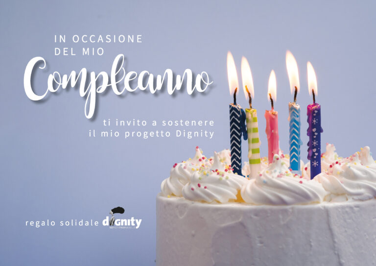 compleanno solidale