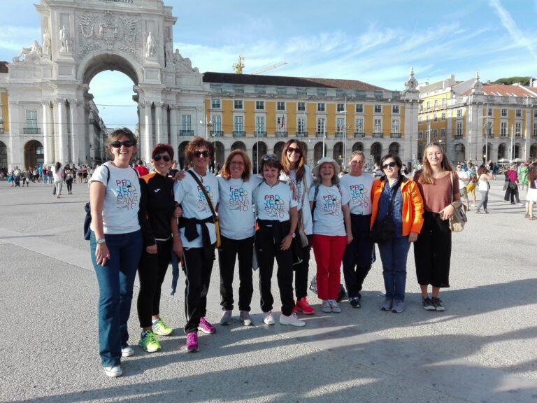 SPORT maratona Lisbona x raccolta Dignity