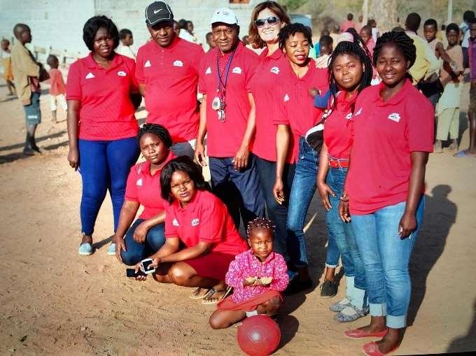 Grupo de formadores da Aldeia Dignity