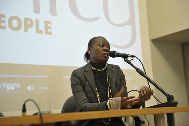 Lucia Joana Metazama, presidente dell'Associazione delle donne mozambicane in Italia