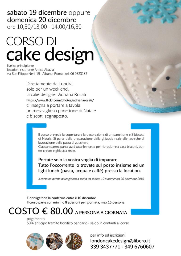 VOLANTINO CORSO CAKE DESIGN